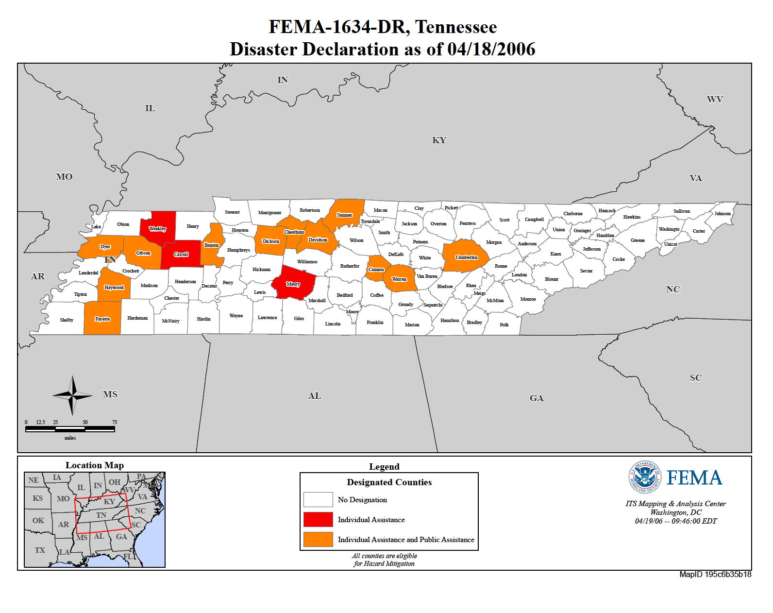 Tennessee Severe Storms And Tornadoes Dr 1634 Fema Gov