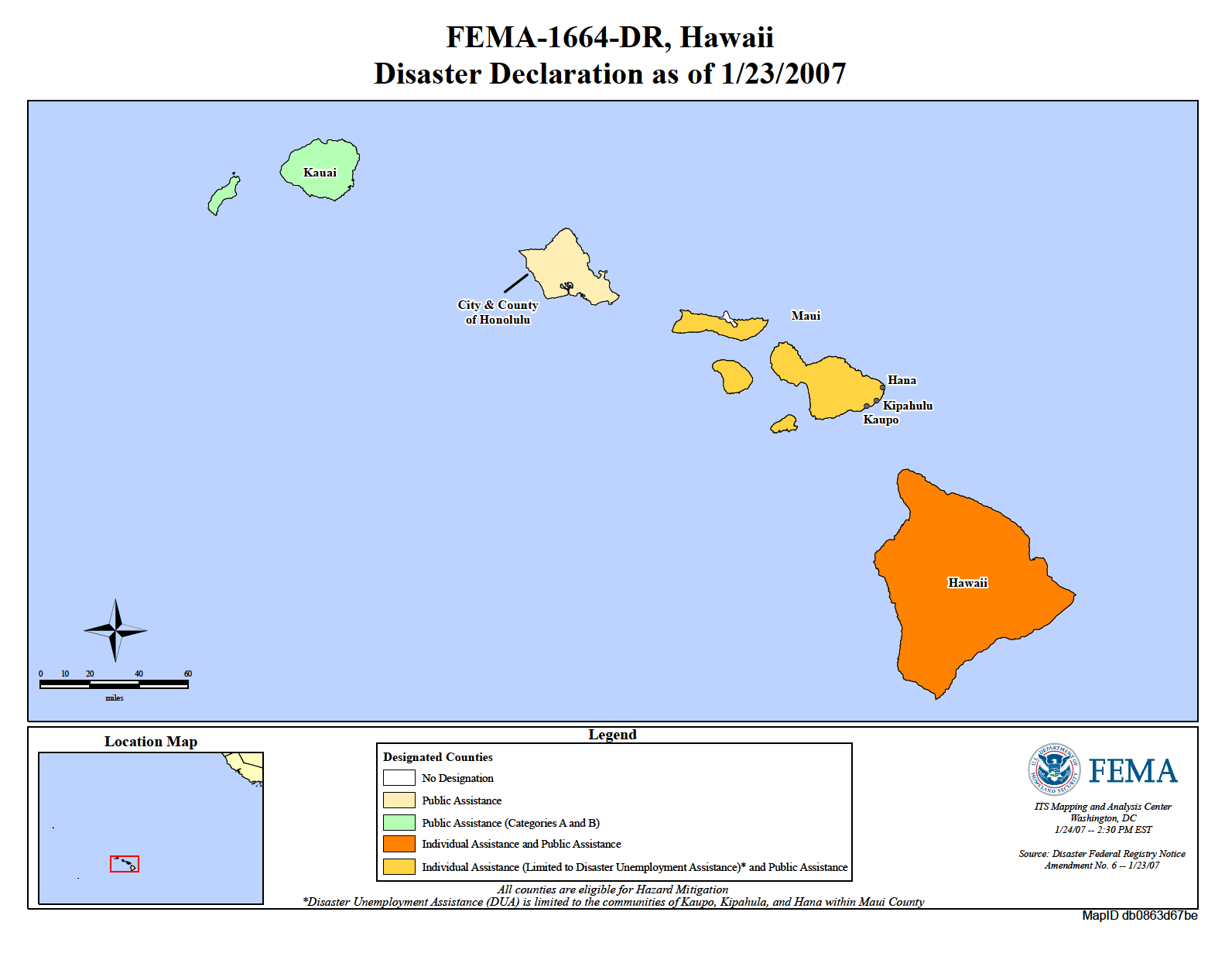 Hawaii Earthquake (DR 1664) | FEMA.gov