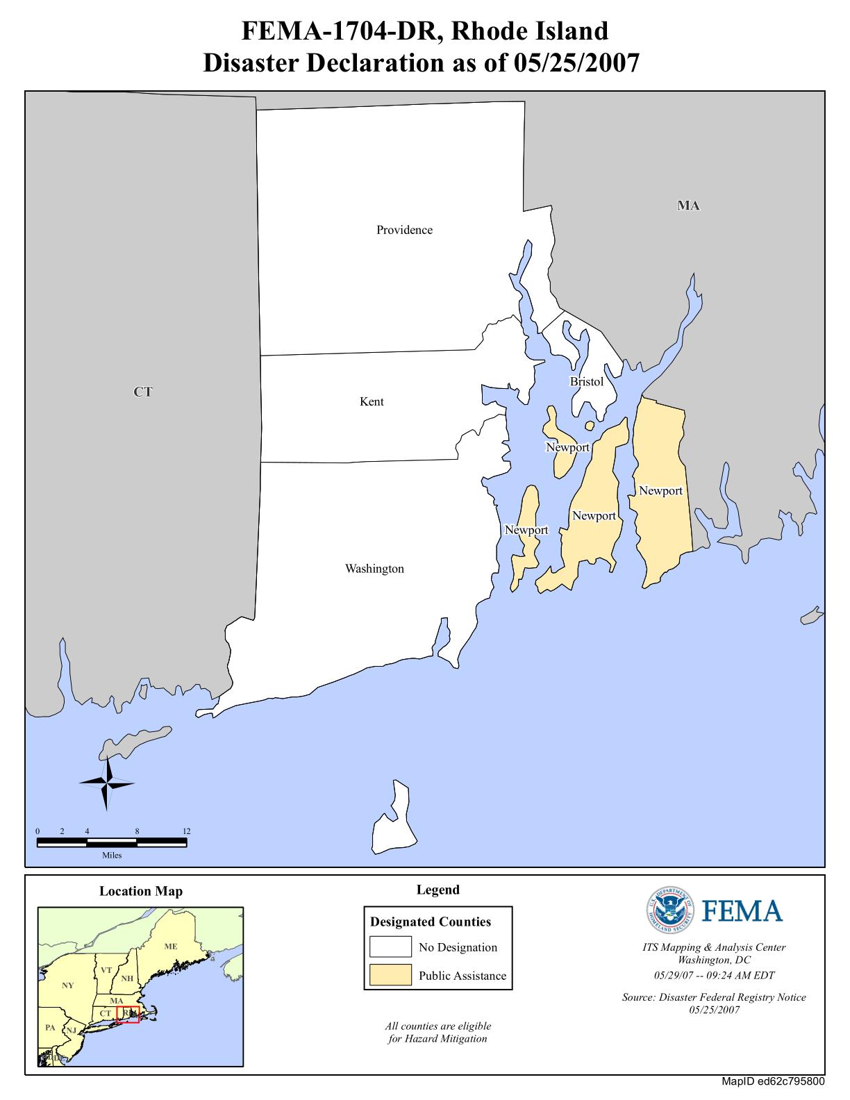 rhode island flood maps Rhode Island Severe Storms And Inland And Coastal Flooding Dr rhode island flood maps