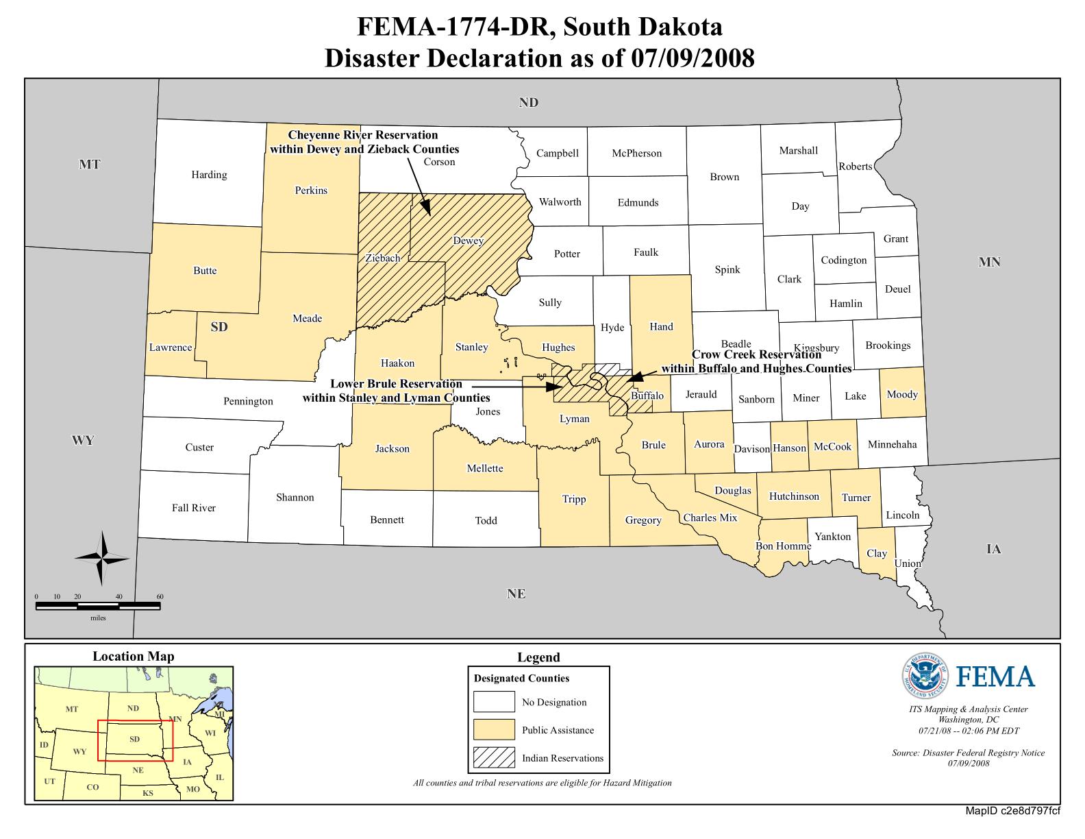 South Dakota Severe Storms and Flooding (DR-1774)   FEMA gov