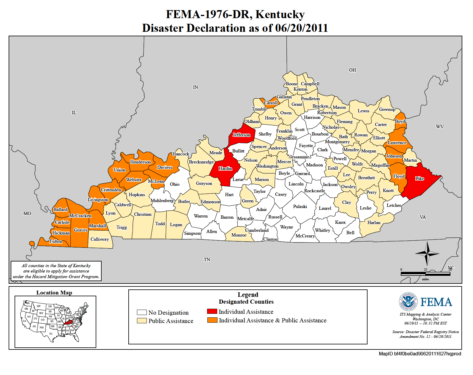 Kentucky Severe Storms Tornadoes and Flooding DR1976 FEMAgov