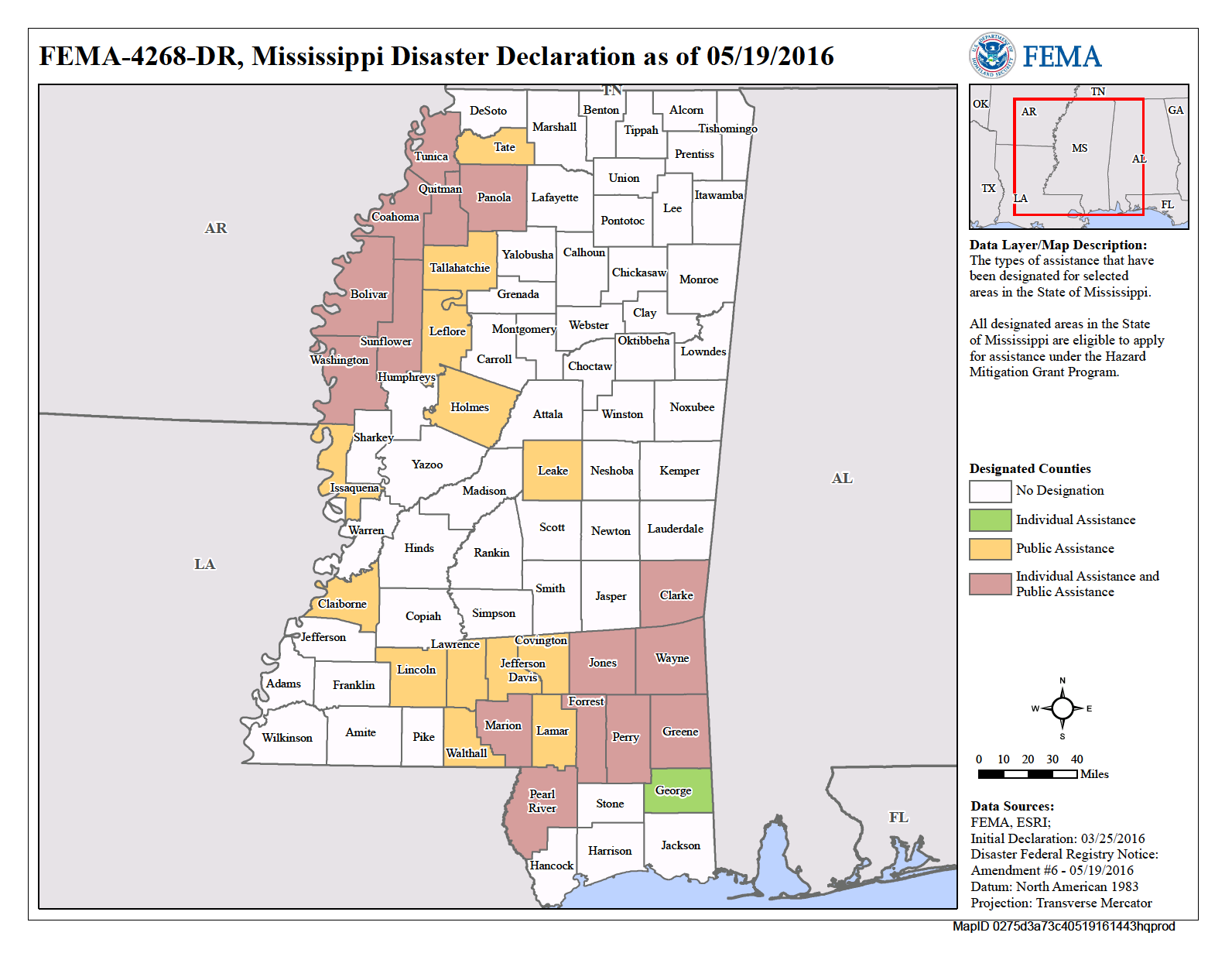 Mississippi Severe Storms and Flooding (DR-4268) | FEMA gov