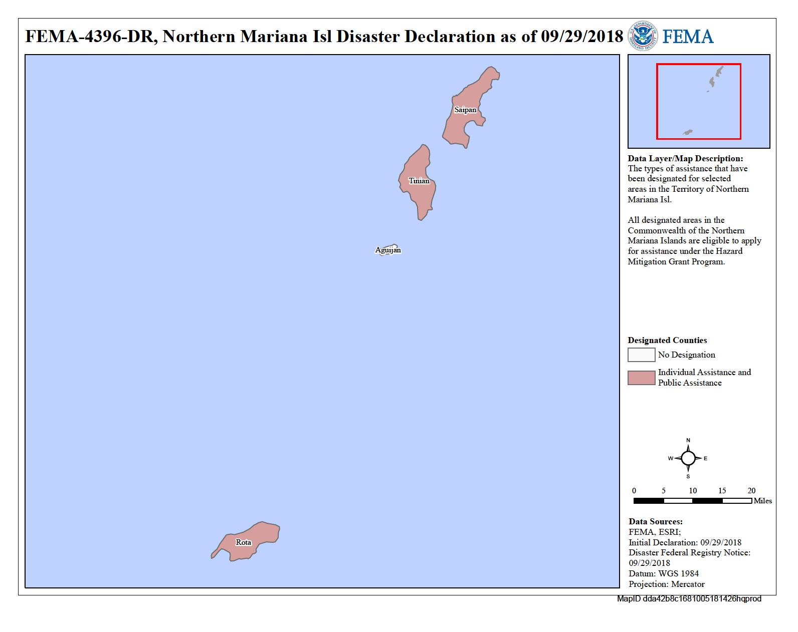 Northern Mariana Islands Typhoon Mangkhut (DR-4396) | FEMA.gov