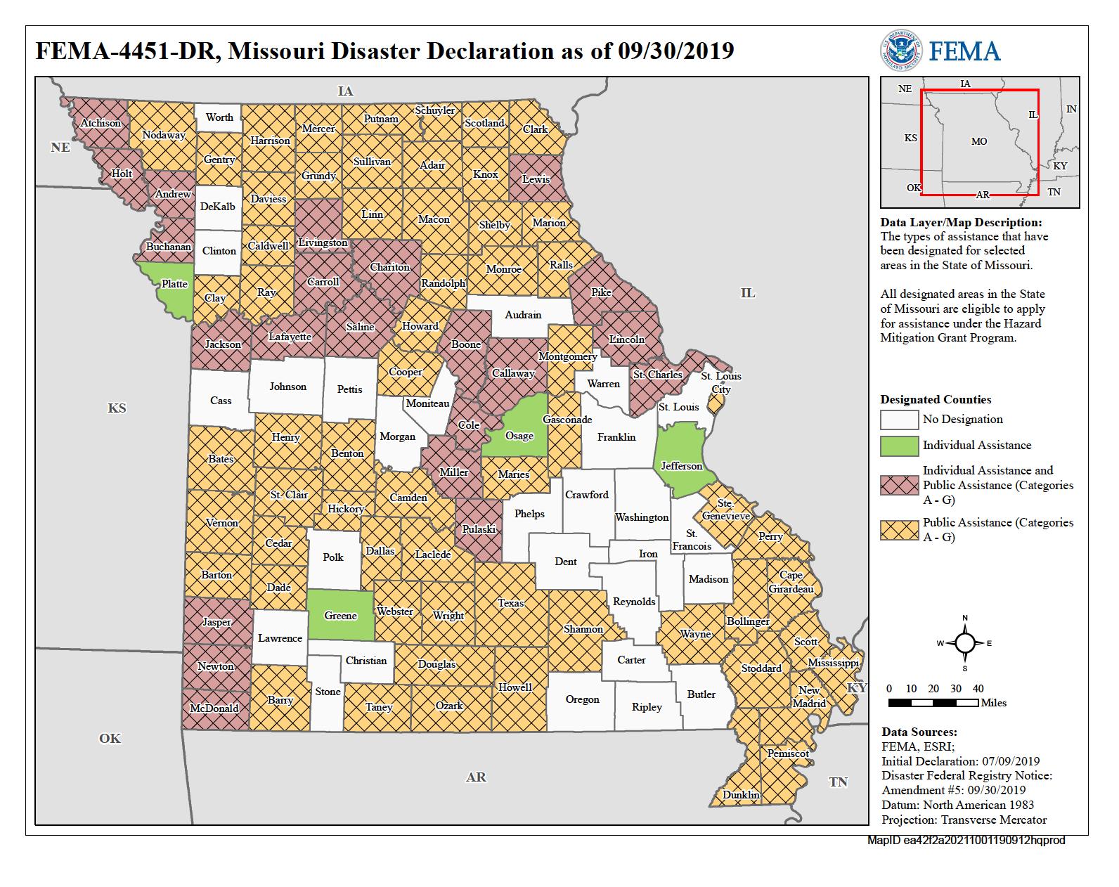 Missouri Severe Storms Tornadoes And Flooding Dr 4451 Fema Gov